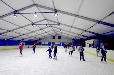 Oświetlenie lodowiska