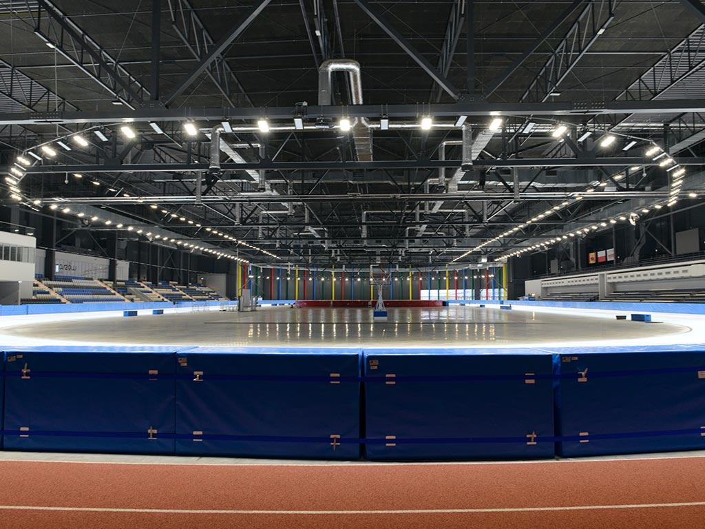 Tomaszów Mazowiecki Arena Lodowa oświetlenie